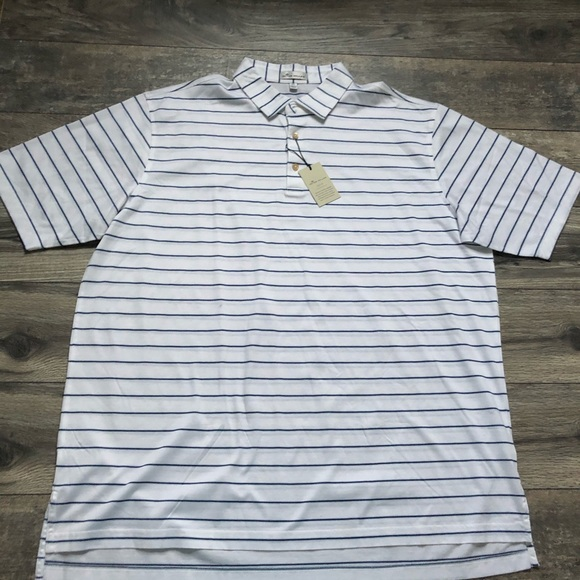 Peter Millar Other - Peter Millar crown ease striped polo